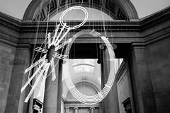 Tate Britain (Again) (The_Kevster) Tags: nikon d3300 dslr museum london tate tatebritain gallery millbank exhibition sculpture bricks interior ceiling exhibit mobile pimlico southlondon cerithwynevans neon installation duveengalleries windows formsinspace…bylightintime