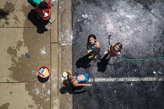 Car Wash from Above