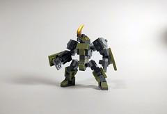 VS-A-GR5K 'Krivlyaka' Front (Jay Biquadrate) Tags: moc microscale mfz mf0 mobileframezero mech mecha lego
