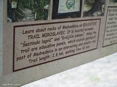 Miroslavac trail about