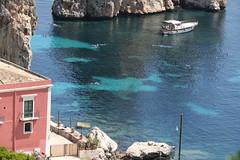 La tonnara di Scopello è una delle più importanti e antiche di tutta la Sicilia; fu edificata nel XIII secolo e notevolmente ampliata nel corso dei secoli XV e del XVI.  Si trova nel territorio di Castellammare del Golfo. (raffaele pagani) Tags: tonnaradiscopello scopellotunafishfarm tunafishfarm tonnara mare natura sea nature cala cove baia bay castellammaredelgolfo provinciaditrapani provinceoftrapani sicilia sicily italia italy canon