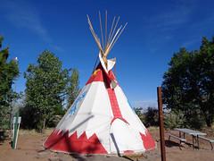 Holbrook, AZ - KOA (twm1340) Tags: june 2017 rv trip holbrook az arizona koa park teepee tipi