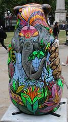 Jenny Jungle Rear (ahisgett) Tags: birmingham children's hospital charity wild art big sleuth 2017 bearmingham bear