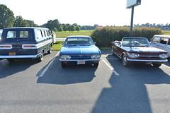 Classic Cars Corvair Club Hoyt's Restaurant Lexington, NC 20170710_4256 (Shane's Flying Disc Show) Tags: classiccars corvairclub davidson nc lexinton unsafeatanyspeed daredevils
