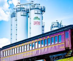 Train at Milton Bicentennial 2017 (charlie_guttendorf) Tags: classictrain conagra guttendorf miltonpa nikon nikon18200mm nikond7000 oldtrain train centralpa outdoors outside