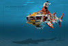 "Hammerhead-2 (Markus ""Madstopper"" Ronge) Tags: lego submarine moc steampunk madstopper nautical submersible uboot"