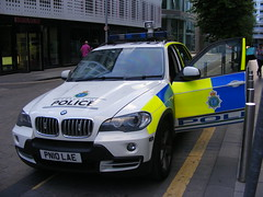 5538 - Merseyside - PN10 LAE - 240 (Call the Cops 999) Tags: uk gb united kingdom great britain 999 112 emergency service services vehicle vehicles england 101 police policing law enforcement and order arv armed response manchester city centre sunday 4 june 2017 mutual aid merseyside battenburg led lightbar bmw x5 pn10 lae hardman street