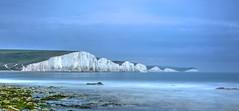 Seven curses (pauldunn52) Tags: seven sisters sussex cliffs chalk beach long exposure sea