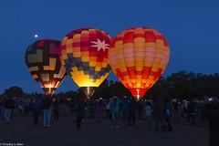 Taking Phone Photos of Dawn Patrol (allentimothy1947) Tags: calfiornia sonomacountyhotairballoonclassic balloons hotairballoon windsor dawn patrol
