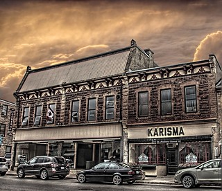 Fergus Ontario ~ Canada ~ Downtown Heritage District