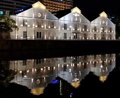 Singapore River 2 (joeng) Tags: singapore places landscape building tree plants river singaporeriver water reflection people