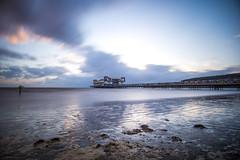 Weston Pier (peterchilds93) Tags: weston super mare somerset southwest england beach pier resort sand grand long shutter speed slow sony zomei nd1000 30secs sea ocean water