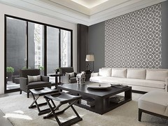 LMG10244_012 (Giấy dán tường, Thảm trải sàn, Sàn nh) Tags: horizontal indoors inside interior nopeople nobody day sunlight daylight afternoon sittingroom residence edifices edifice structures architectural livingroom rooms home residentialbuilding building architecture lounge sofa things thing couch furnishings furniture householdobjects modern contemporary minimalism minimalistic minimalist minimal tienmu asia pacificrim taiwan throw arearug rug carpet buildingmaterials coffeetable blackandwhite blackwhite bw