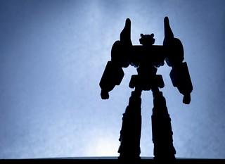 Transformers silhouette