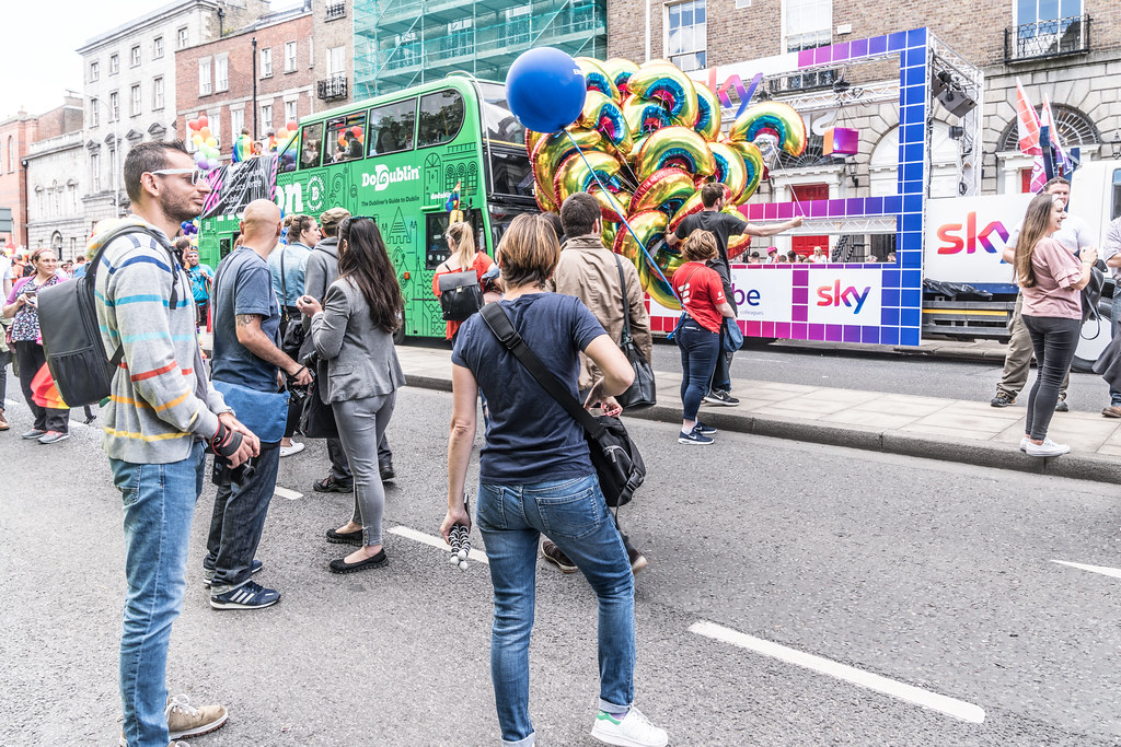 LGBTQ+ PRIDE PARADE 2017 [STEPHENS GREEN BEFORE THE ACTUAL PARADE]-129766