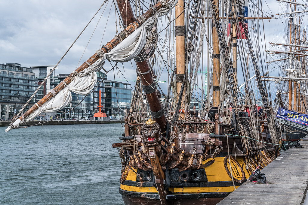 THE FRIGATE SHTANDART [TALL SHIPS LEAVING DUBLIN PORT TUESDAY JUNE 6 2017]-129400