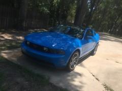2011 Mustang GT #2 (Bl00DlINE-Trevor) Tags: ford 50 mustang blueoval 2011 runningpony grabberblue
