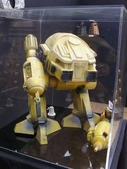 ED-209 at Kirkleatham (Nekoglyph) Tags: kirkleatham museum robots exhibition cleveland yellow tv advert model ed209 robocop