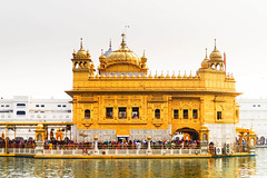 Golden Temple (himanshu_07) Tags: golden temple amritsar punjab india religious place gurdwara sikhism travel outdoor outside harmandir sahib sikh heaven help people god one