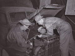 Knockmore Ordnance Depot, October 1942 (G.I N.I) Tags: knockmore northernireland usarmy ww2 71stordnancemediummaintenancebattalion 71stordnancebattalion 22ndordnancebattalion 518thordnancemediummaintenancecompany depoto601 lisburn countyantrim gmc