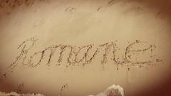À toutes les Romane dont ma 2ème poupée,ma fille (camilleromane1) Tags: romane prénom sable écrire mer sea summer été camargue lg lgg3 plage dédicace
