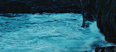 Marina (Anagarciatorroba) Tags: water sea beach oleaje tenerife wave longexposure blue ocean seascape