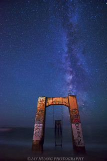 Milky Way at Abandoned Pier