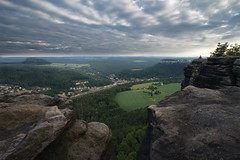 On Top of the World (Stefan Zwi.) Tags: lilienstein abend evening sächsischeschweiz elbe landscape landschaft saxonswitzerland 7dwf landscapes