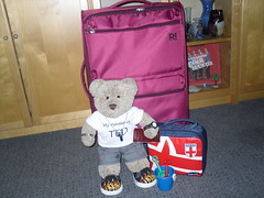 ...and Ted came too! (pefkosmad) Tags: tedricstudmuffin teddy bear ted tedsholibobs holibobs cute stuffed toy softie plush fluffy animal holiday vacation vacances rhodes pefkos pefki pefkoi greece greekislands griechenland hellas dodecanese rodos luggage baggage suitcase packing passport bucket spade