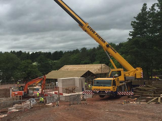 SW8 Construction Site June 23rd 2017