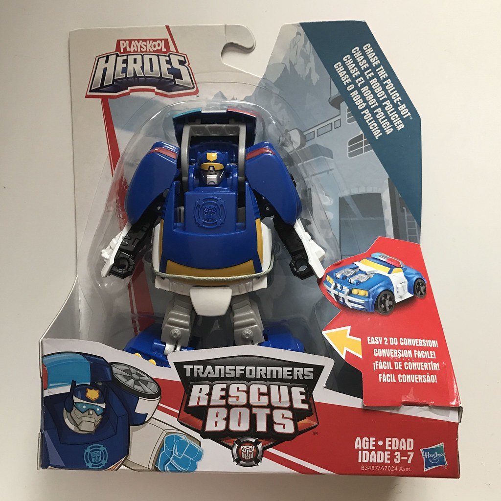 The world 39 s best photos of hasbro and transformers - Playskool helmet heroes police officer ...