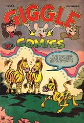 Giggle Comics 24 (Michael Vance1) Tags: art adventure artist anthology comics comicbooks cartoonist funnyanimals fantasy funny humor goldenage
