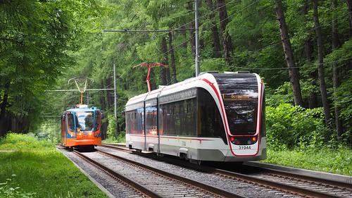 Moscow tram 31044 Vityaz-M