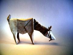 Goat - Román Díaz (Rui.Roda) Tags: origami papiroflexia papierfalten cabra chèvre goat román díaz