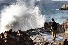 Lands end (adrianatsakoyias) Tags: actionshot splash waves ca sf landsend