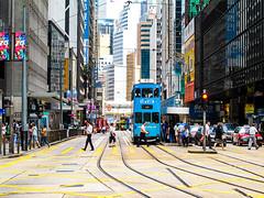 Busy City Centre - Central (ThisisMandyC) Tags: citysnap hongkong central canonpowershotg11