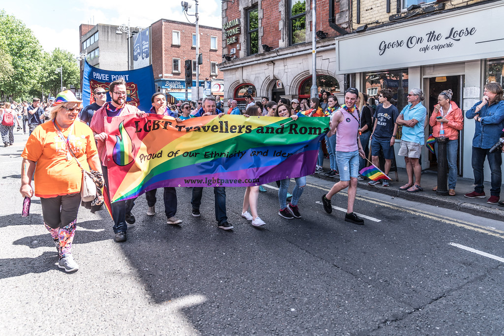 LGBTQ+ PRIDE PARADE 2017 [ON THE WAY FROM STEPHENS GREEN TO SMITHFIELD]-129969