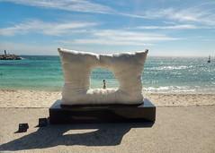 Window of the future. (sander_sloots) Tags: sculpture by sea cottesloe window future perth indian ocean beach australia strand kunst art indische oceaan australië