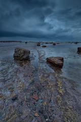 Long Reef Headland 2 (RoosterMan64) Tags: clouds longexposure longreef nsw northernbeaches rockshelf sunrise sydney water