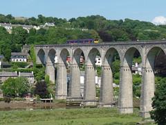 150127 Calstock Viaduct (13) (Marky7890) Tags: gwr 150127 class150 sprinter 2g76 calstockviaduct railway cornwall calstock tamarvalleyline train