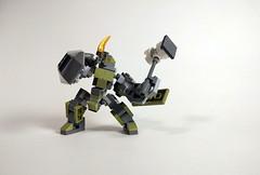 VS-A-GR5K 'Krivlyaka' Armed (Jay Biquadrate) Tags: moc microscale mfz mf0 mobileframezero mech mecha lego