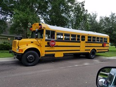 O2B Kids Alachua Buses (abear320) Tags: school bus gainesville florida o2b kids international ic crown thomas blue bird