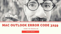error 3259 MAC Outlook 2011 (abrienneJ) Tags: resolve error 3259 mac outlook 2011