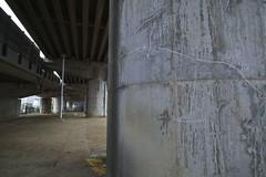 20170626_DP0Q1795-SFD (NAMARA EXPRESS) Tags: street underbridge bridge pillar concrete construction structure scribble tripod sfd superfinedetail daytime summer cloudy outdoor color spp spp653 foveonclassicblue toyonaka osaka japan foveon x3 sigma dp0 quattro wide ultrawide superwide namaraexp