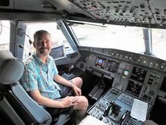 left seat VX N285VA A320-214 (kenjet) Tags: me self ken kenny kenjet cockpit seat leftseat airbus vx virgin virginamerica vx47 plane jet aircraft airliner airline flugzeug n285va a320 a320214 a320200 flightswithbenefits frontoffice flightdeck