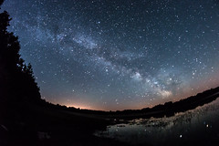 Milkyway2 (mnicol13) Tags: milkyway voie lactée plounérin cotes darmor france bretagne bzh breizh stars étoiles nuit night 2017 nikon d3200 8mm fisheye nature étang