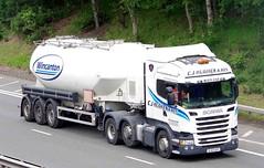SCANIA R440 - C J HUGHES & Son - St.Boswells Scottish Borders (scotrailm 63A) Tags: lorries trucks tankers