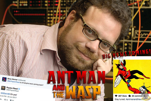 Ant-Man and The Wasp News Roundup- Christoph Beck Returns + Big News to Come!