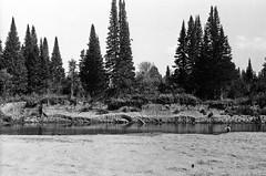 95990028 (sabpost) Tags: retro vintage scan film bw ussr ссср пленка сканирование скан негатив россия ретро old rare scans russia russian found photo siberia сибирь soviet river landscape