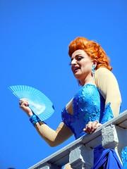 gaypride sitges (gerben more) Tags: drag dragqueen gaypride gay sitges spain blue colours colors people portrait portret